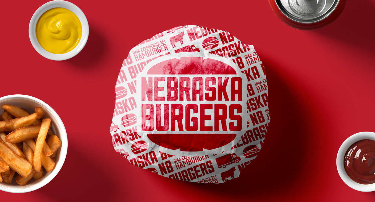 Design de Embalagem para Nebraska Burguers