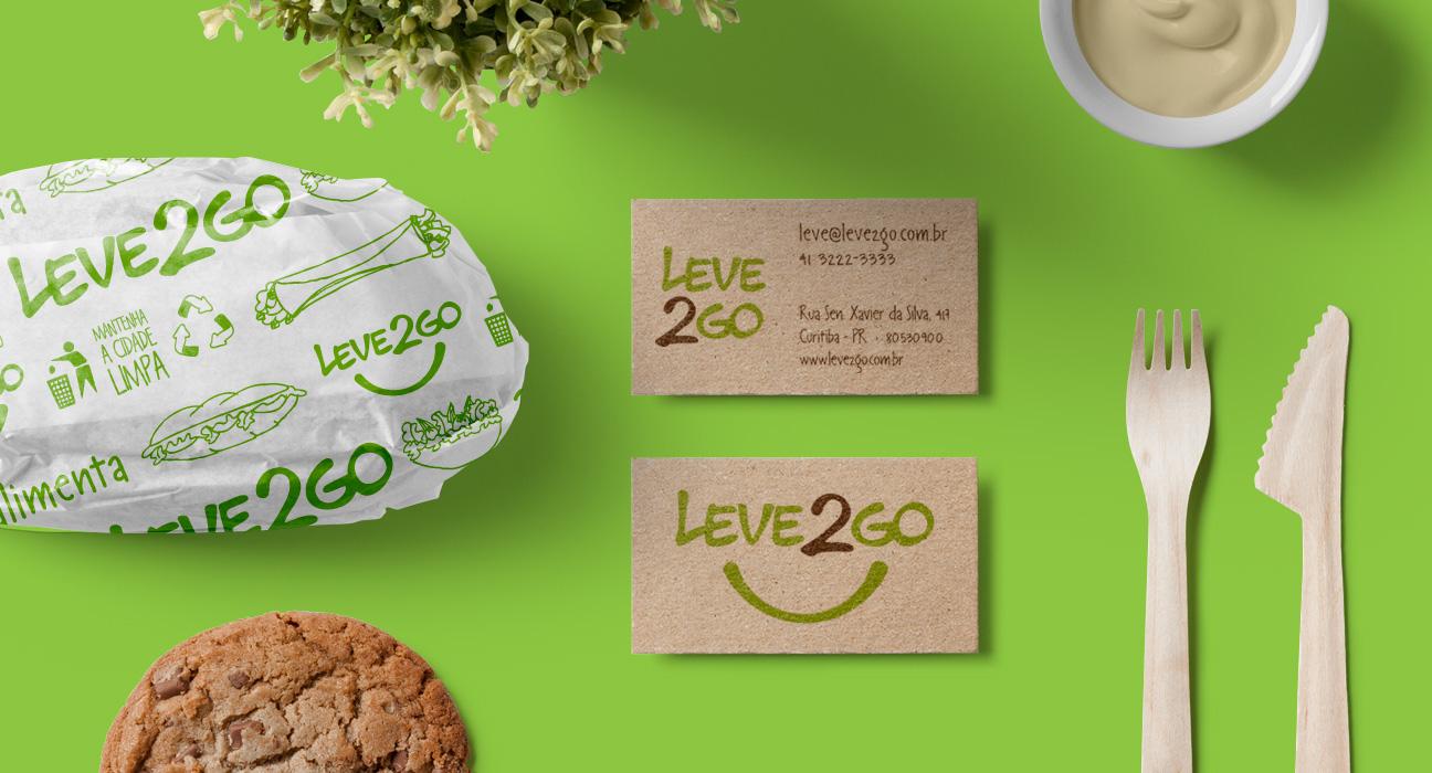 Design de Embalagem para Leve2Go