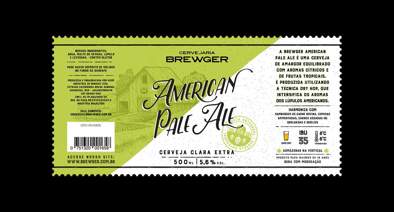 Design de rótulo para Cerveja