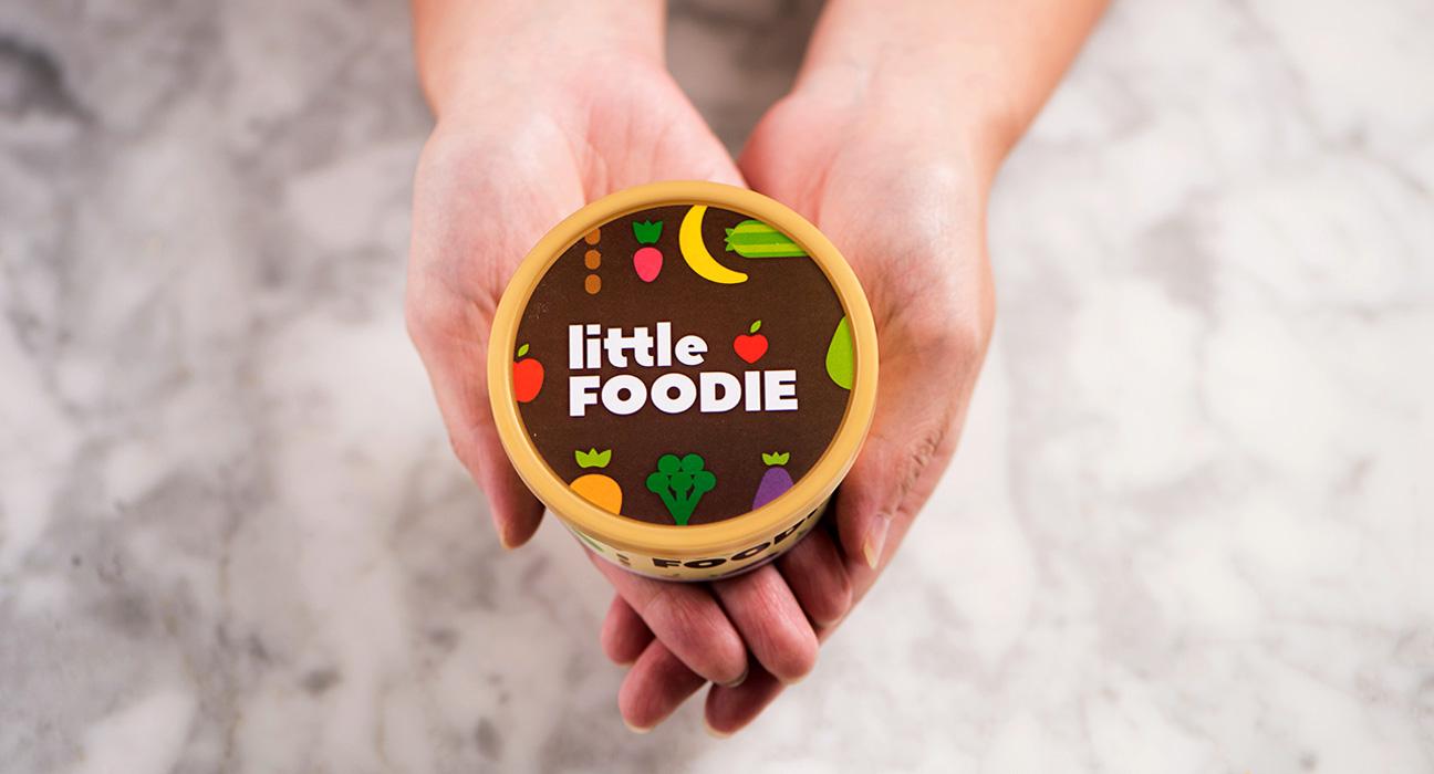 Design de Embalagem Little Foodie