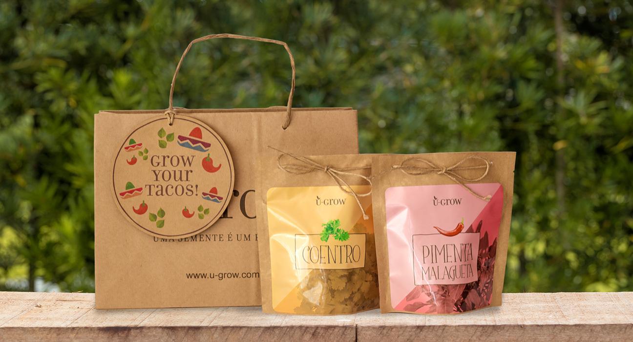 Design de Embalagem U-Grow