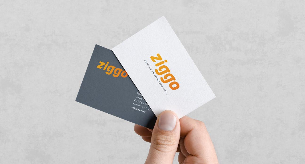 Identidade Visual Ziggo