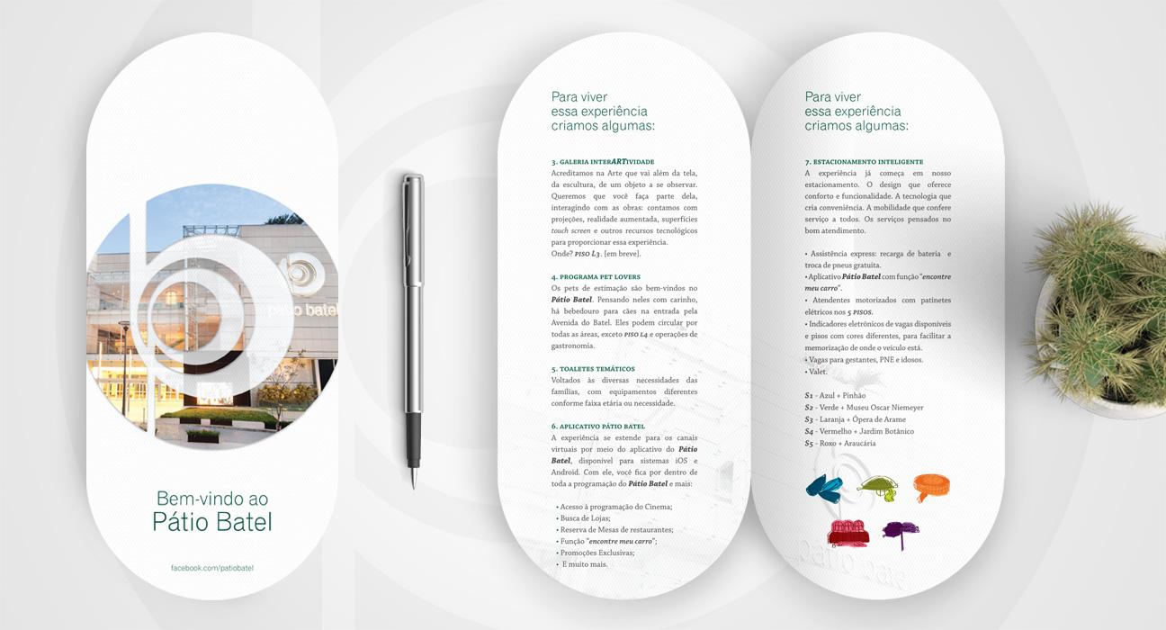 Design Gráfico para Shopping Patio Batel