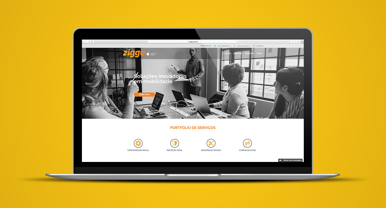 Web Design Ziggo