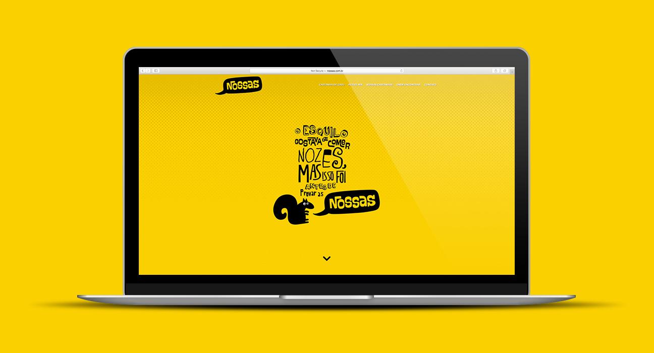 Web Design Nossas Castanhas