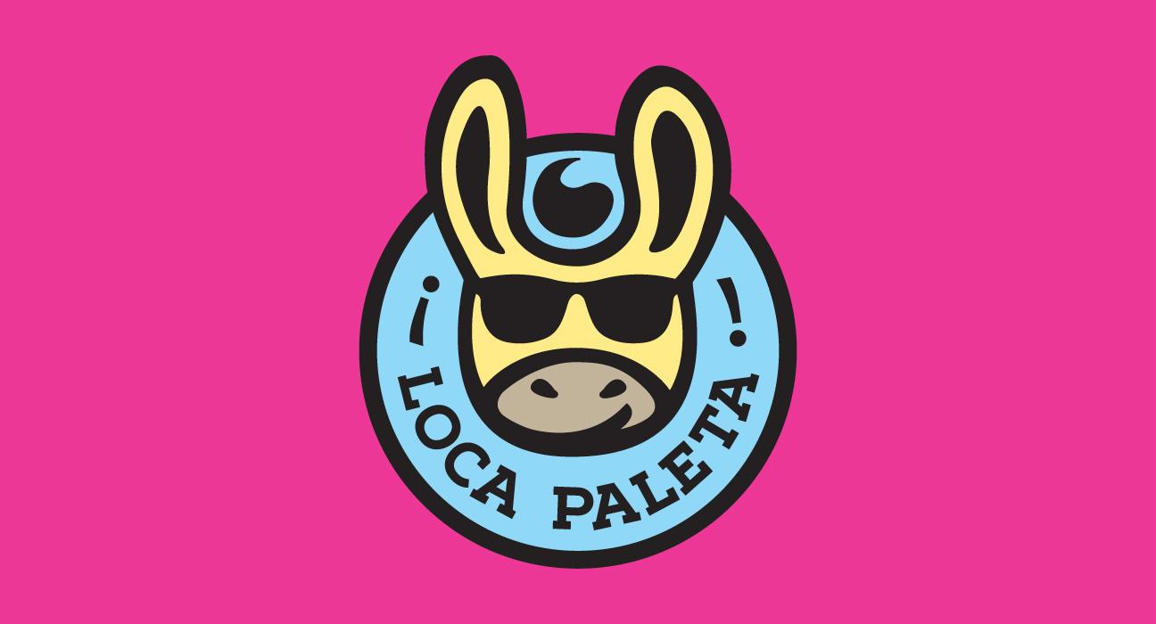 Design de marca para Loca Paleta